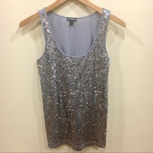 [EXPRESS] Sequin Tank top